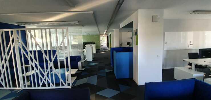 Büroausbau artegic AG, Bonn - Fertig gestellt.
