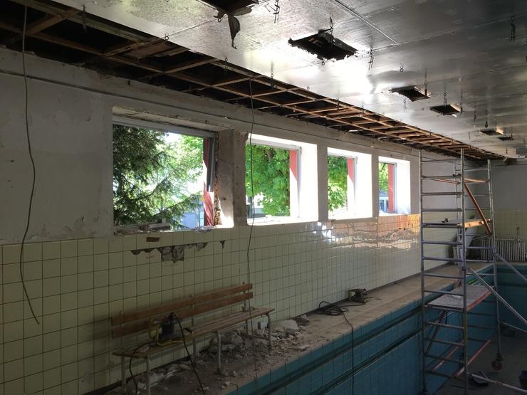 Kindertagesstätte - Therapeutisches Kompetenzzentrum - Vor dem Umbau.