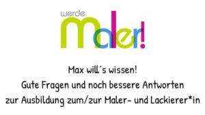 Max will´s wissen