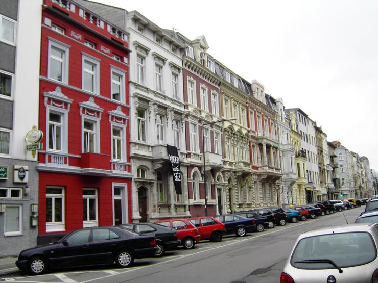 Nachhermotiv Fassadensanierung