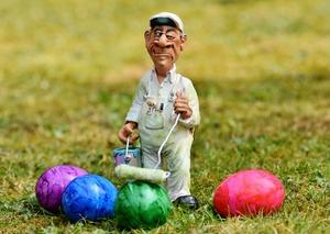 Erwischt! Und: Frohe Ostern