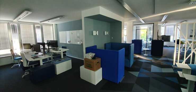 Büroausbau artegic AG, Bonn - Fertiggestellt.